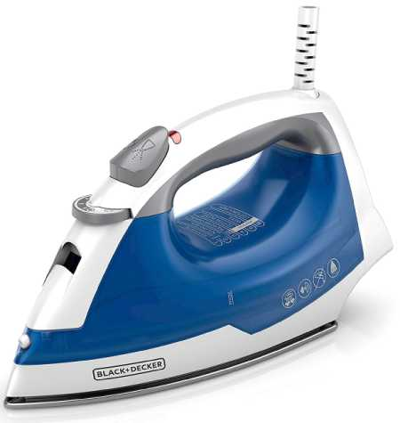 IR03V Easy Steam Compact Iron by Black + Decker