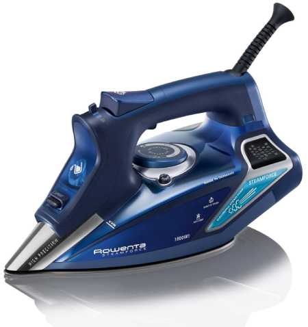 DW9280 Steam Force 1800-Watt Professional Digital LED Display Iron by Rowenta