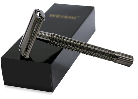 WEISHI Nostalgic Long Handle Safety Razor