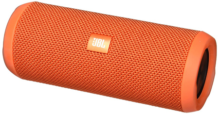 JBL Flip 3 Splashproof Portable Bluetooth Speaker.