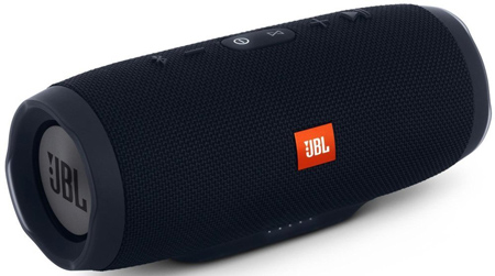 JBL Charge 3 JBLCHARGE#BLKAM Portable Bluetooth Speaker.