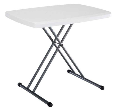 Lifetime 28241 Adjustable Folding Laptop 30 inch Table.