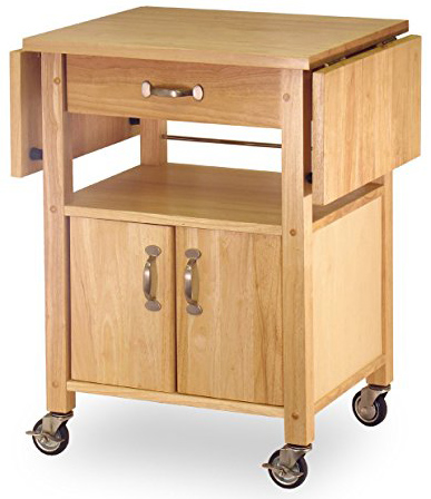 Winson drop-Leaf Kitchen Cart.