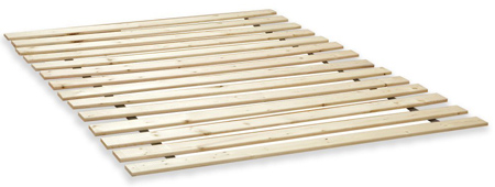 Classic Brands Heavy-Duty twin XL Wooden Bed Slats