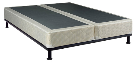 Continental Sleep 8-Inch Queen Size Assembled Split Box Spring for Mattress,Elegant Collection