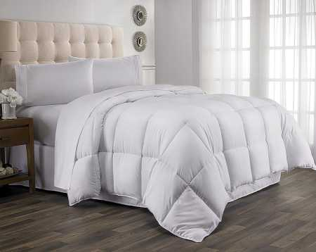 Queen Comforter, Year Round Down Alternative Comforter, Duvet Insert, Fluffy, Warm, and Soft by Hanna Kay (Queen)