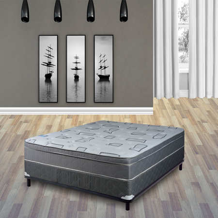Best Price Mattress 6 Inches Memory Foam Mattress and 14 Inches Premium Steel Bed Frame.