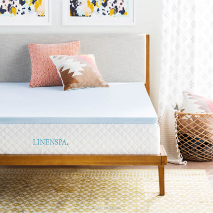 Lines 2 Inch Gel Infused Memory Foam Mattress