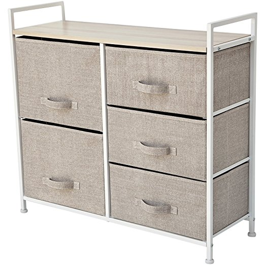 Storage Cube Dresser – Organize your Nursery, Bedroom, or Play Room with this Fabric Bin Storage Unit – Simple, Lightweight, Durable