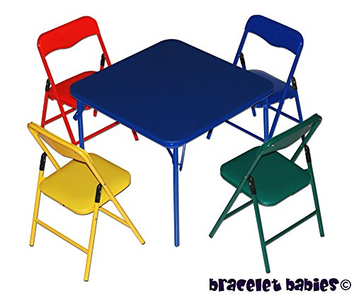 Children's Folding Chair and Table Furniture Set