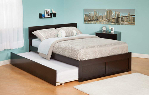 Atlantic furniture twin trundle bed