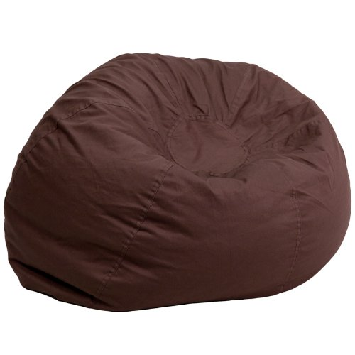 Flash Furniture Oversized Bean Bag Chair Free Pillow