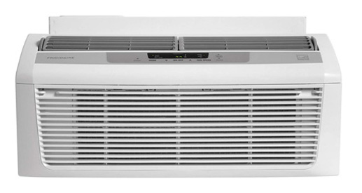 Frigidaire 6,000 BTU 115V Window-Mounted Low Profile Air Conditioner with Full-Function Remote Control