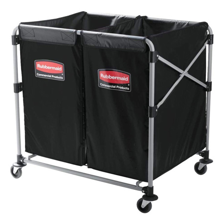 Rubbermaid Executive Series Collapsible Commercial X-Cart