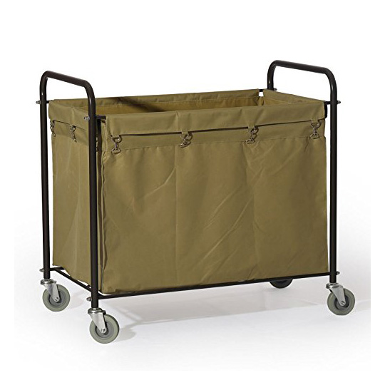 Farag Janitorial commercial laundry cart