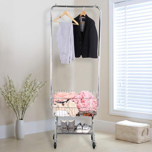 Yaheetech Commercial Laundry Cart