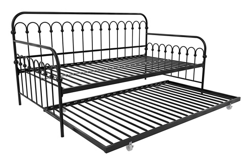 Novogratz Bright Pop Twin Metal Daybed and Trundle