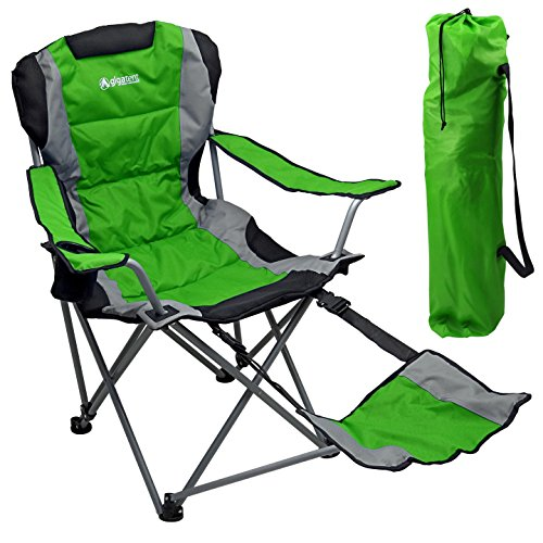 Outdoor Quad Camping Chair - Lightweight, Portable Folding Design
