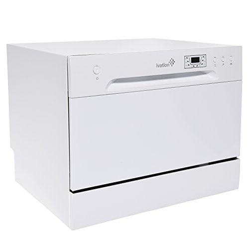 Ivation Portable Dishwasher – Countertop Small Compact Dishwasher