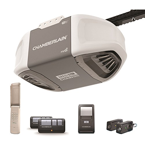 Chamberlain Group C450 Garage Dr. Opener Md/Chain 1/2Hp Pewter