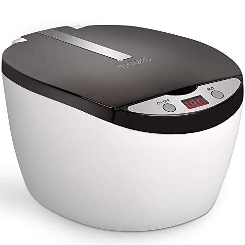 VIVREAL Professional Ultrasonic Jewelry Cleaner with Digital Timer