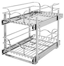 Rev-A-Shelf 5WB2-0918-CR Base Cabinet Pull-out Wire Basket