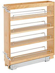 Rev-A-Shelf - 448-BC-5C Pull-Out Wood Base Cabinet Organizer