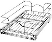 Rev-A-Shelf 5WB1-1220-CR Base Cabinet Pull-Out Chrome Wire Basket