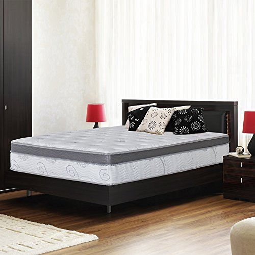 Olee Sleep 13 Inch Gel Infused Euro Box Innerspring Mattress