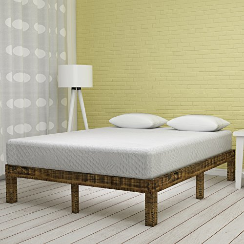 Olee Sleep 8 Inch Ventilated Convolution Memory Foam Mattress