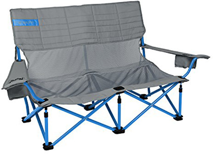 Kelty Mesh Low-Love Seat Camping Chair – Portable, Folding Chair for Festivals