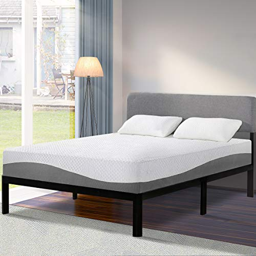 Olee Sleep 10 in Aquarius Memory Foam Mattress