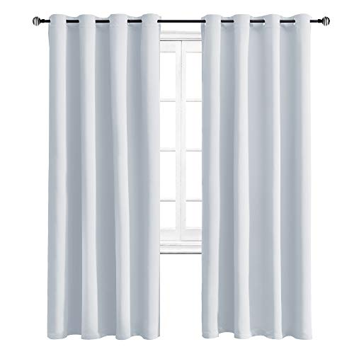 WONTEX Thermal Insulated Blackout Curtains Room Darkening Living Room Curtains