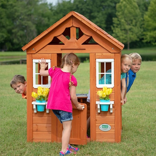 Outdoor Playhouses for Kids