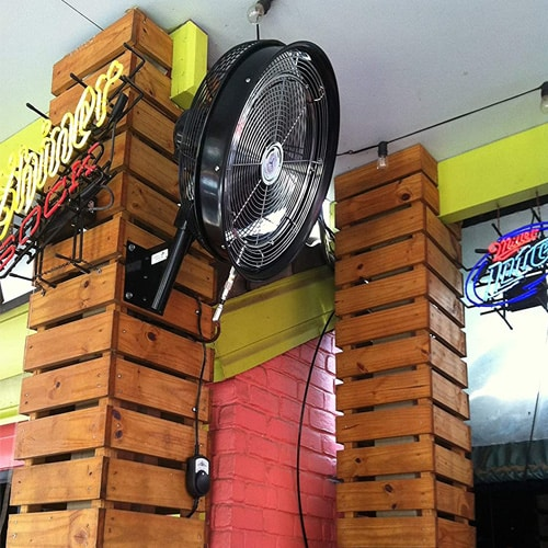 Cheap Outdoor Misting Fan