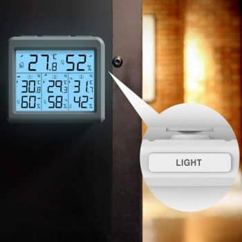 Wireless Thermostats with Remote Sensor