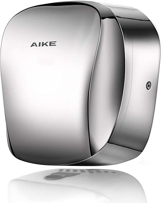 AIKE AK2903 Commercial Heavy Duty Hand Dryer Hepa Filter Stainless Steel Polished
