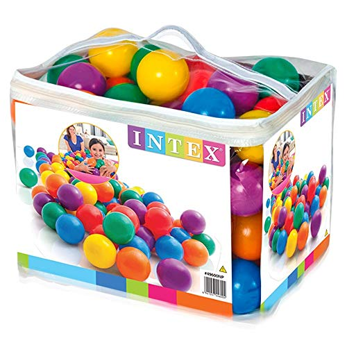 Fun Ballz 100 Multi Colored Plastic Balls