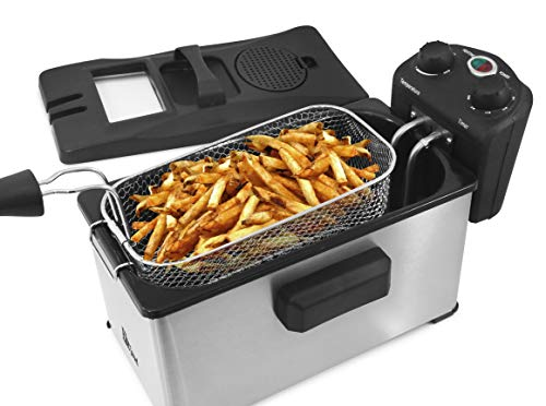 Maxi-Matic Triple Basket Deep Fryer