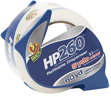 Duck Brand High Performance Packaging Tape Dispensers