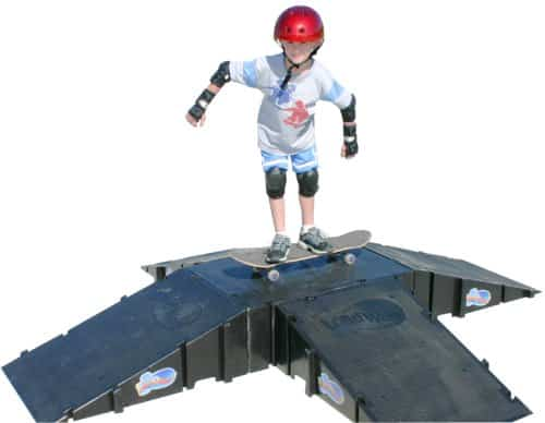 Four-Sided Pyramid Skateboard Kit