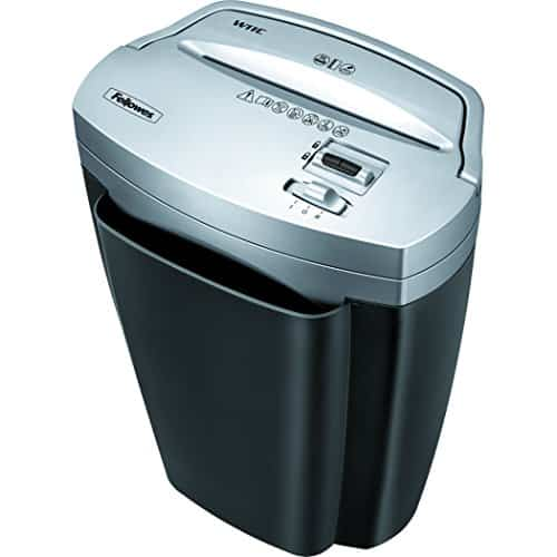 Fellowes Powershred W11C and Credit Card Shredder with Safety Lock