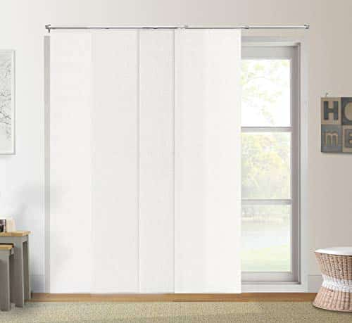 CHICOLOGY Adjustable Sliding Panels, Cut to Length Vertical Blinds