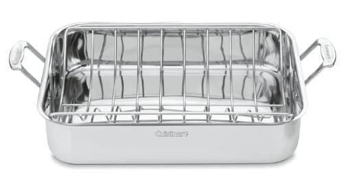 Cuisinart Chef's Classic Stainless Rectangular Roaster with Rack