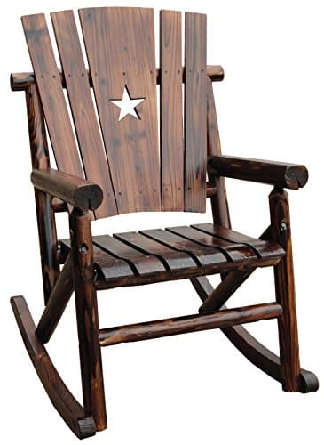 Expend Log Single Rocker with Star