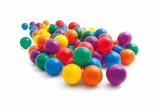 Intex 2-1/2 Fun Ballz 100 Multi-Colored