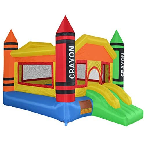 Cloud 9 Mini Crayon Inflatable Bouncing Jumper