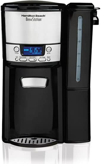Hamilton Beach Coffee Maker 12-Cup Programmable Dispensing