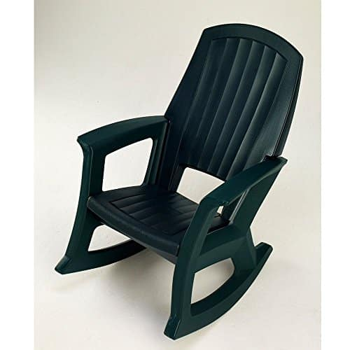 Hunter Green Outdoor Rocking Chair