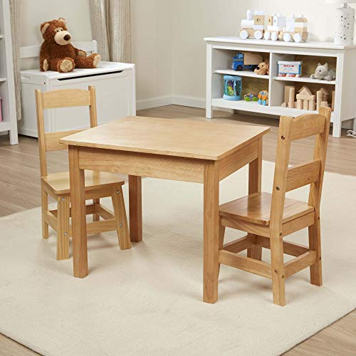Mellisa and Doug Solid Wood Table and two Chairs Set